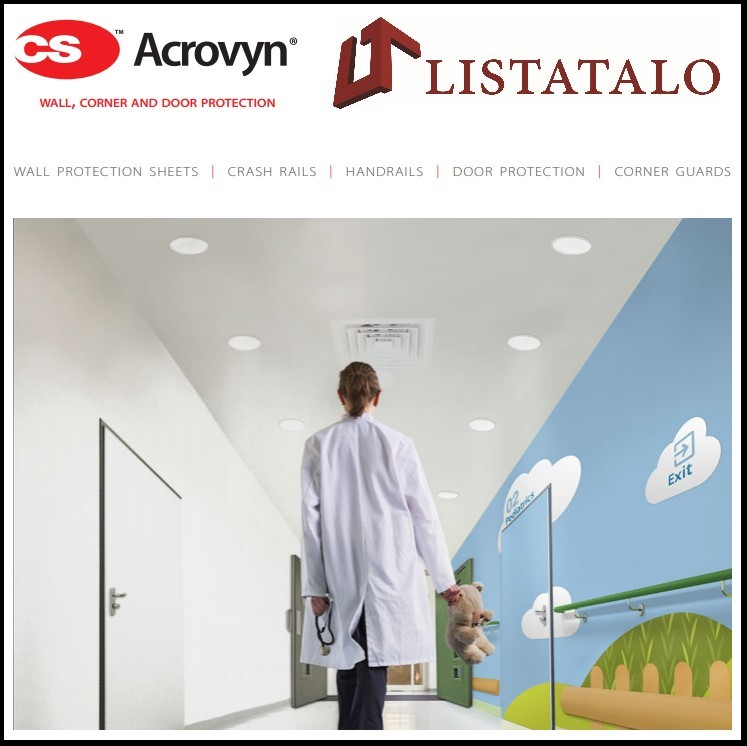 Seinäsuojat ja kaiteet sairaalaympäristöön